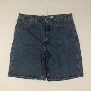 Levi's men's blue jean shorts